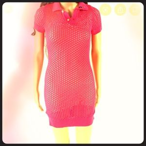 DSQUARED2 - NEW!! Hot Pink Dress (s)